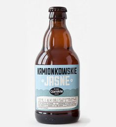Proposed design for Kamionkowskie beer (Warsaw, Poland) designed by Marcin Szewczyk.