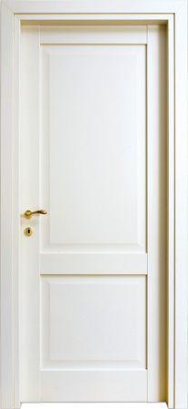 Porte interne modello 2F in legno #listellare. Rivestimento #esterno ...
