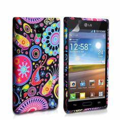 LG Optimus L7 Silicone Jellyfish Case