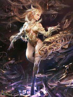 """Time Goddess - Regular"" by 子君_zinna Du (zinnaDu)   Legend of the Cryptids   #Fantasy"