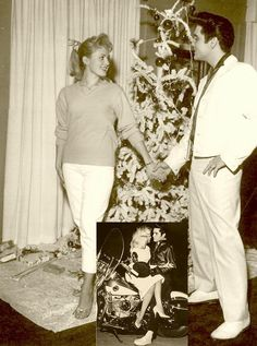 Hannerl Melcher was Miss Austria 1957 and also a Las Vegas Showgirl. She spent Christmas with Elvis in 1957 at Graceland.