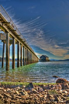 Garibaldi Pier, Oregon