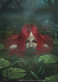The denizens of the swamp were terrifying but none so much as she, because her great beauty hid the greatest of evils, and no man could resist her - to their eternal damnation.