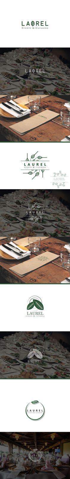"""Check out my @Behance project: """"Laurel Events & Catering - Branding concepts"""" https://www.behance.net/gallery/52941381/Laurel-Events-Catering-Branding-concepts"""