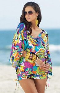 bold colors and prints for Summer 2012