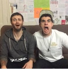Feel you in that moment! Curtis lepore and Christian delGrosso love them both there mine!!! #TITA