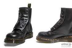 To know more about LIMI feu×Dr.Martens ブーツ, visit Sumally, a social network that gathers together all the wanted things in the world! Featuring over 7 other LIMI feu×Dr.Martens items too! Dm Boots, Combat Boots, Shoe Boots, Dr. Martens, Paris Fashion, Fashion Shoes, Limi Feu, British Style, Cosplay Costumes