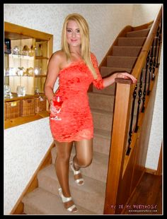 shiny pantyhose dress blonde home From Volume 6; http://meinmypantyhose.com/vol06/