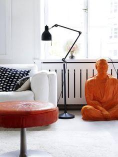 the beautiful apartment of Swedish interior designer Nanna Lagerman