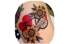 16 Cool Cycling Tattoos