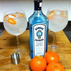 Bombay Saphire Gin.  My favorite.