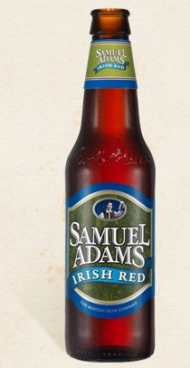 """""""The gentle rain and fertile soil of Ireland helped inspire this style of ale, known for being remarkably balanced.  Pale and caramel malts give Samuel Adams Irish Red its rich, deep red color and distinctive caramel flavor.  The sweetness of the malt is pleasantly balanced by an earthy character from the East Kent Goldings hops."""""""