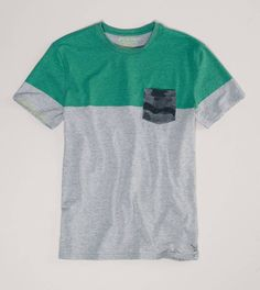 @Janet Russell-Snider Eagle Outfitters : Striped Pocket T-Shirt :love this!!