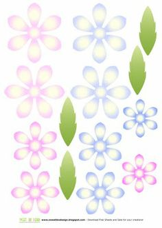 SBDFiori per scrapbooking, card making o decorazioni: Margherite Setby SweetBioDesign