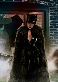 A fanart of Catwoman from DC comics that i have done(i do not own Catoman), clearly inspired by the great Adam Hughes art ,i was having doing this one. Done in Photoshop i have done a process video from grayscale to colored illustration. Batman 1, Batman And Catwoman, Catwoman Comic, Bob Kane, Dc Comics Art, Comics Girls, Bruce And Selina, Catwoman Selina Kyle, Catwoman Cosplay