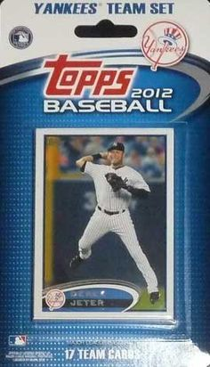 New York Yankees 2012 Topps Factory Sealed 17 Card Limited Edition Team Set Including Derek Jeter, Alex Rodriguez, Robinson Cano, CC Sabathia, Yankee Stadium and More. Cards Are Numbered NYY1 Through NYY17 and Are Not Available in Packs! - http://www.rekomande.com/new-york-yankees-2012-topps-factory-sealed-17-card-limited-edition-team-set-including-derek-jeter-alex-rodriguez-robinson-cano-cc-sabathia-yankee-stadium-and-more-cards-are-numbered-nyy1-through/