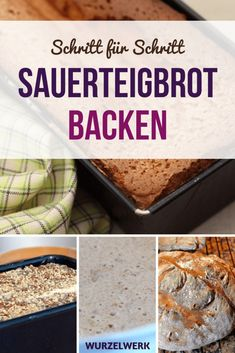 Richtig gutes Sauerteigbrot backen Baking sourdough bread without yeast: Here is a simple recipe for a tasty mixed rye bread that you can bake yourself! Easy Cooking, Healthy Cooking, Cooking Tips, Cooking Lamb, Cooking For Beginners, Christmas Cooking, Healthy Eating Tips, Sourdough Bread, Pampered Chef