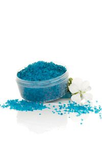 These stress-relieving bath salts are filled with essential oils specially chosen to help you relax after a busy day.