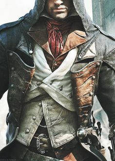 Arno, I'm making this costume for my son for Halloween: officialaidenpearce:  Arno Dorian —> details