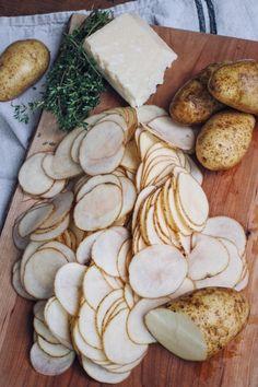 Really nice recipes. Every hour. • HASSELBACK POTATO GRATIN Really nice recipes....