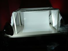 lightbox looks like it would hold up far better and work better than the cardboard box version that wasn't worth a hoot!