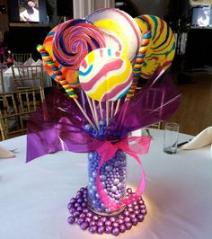 candy center pieces - Google Search