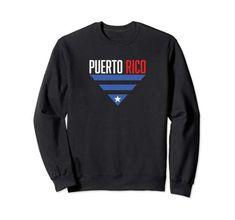 Puerto Rico, Fashion Brands, Graphic Sweatshirt, Amazon, Sweatshirts, Sweaters, Stuff To Buy, Shopping, Tops