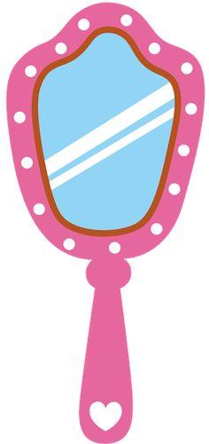 princess mirror clipart - photo #6