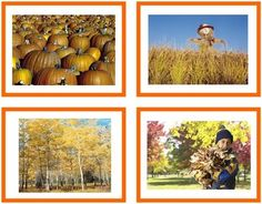 The seasons are changing! Our Seasons and Activities Sorting cards are a fun way to connect the familiar with the passage of time. Each set comes with many colorful photographs of the seasons and the different activities we do in each season. Control chart included!