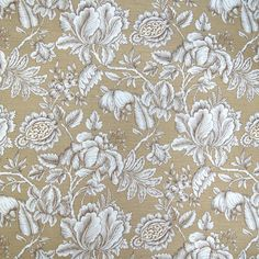 Sisal by Greenhouse Floral Upholstery Fabric, Fabric Roses, Drapery Fabric, Fabric Panels, Floral Fabric, Fabric Decor, Ornament Template, Greenhouse Fabrics, Calico Corners