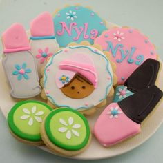 Spa Themed Party Spa Theme Cookies Cookies