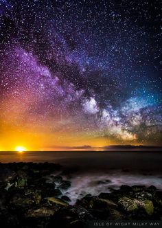 Colors of the Milky Way