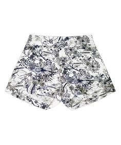 Look at this Navy Etched Sandra Shorts - Toddler & Girls on #zulily today!