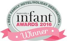 Best Family Hotel / Holiday Destination - in the 2016 Boots Maternity & Infant Awards