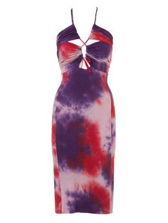 burda style, Schnittmuster - Batikkleid Nr. 122 A aus 07-2013