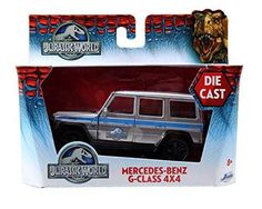 Jurassic World Mercedes G Class 1:43 Scale Die-Cast 4x4 Vehicle
