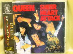 CD/Japan- QUEEN Sheer Heart Attack w/OBI RARE EARLY 1994 TOCP-8273 #HardRockPopRock