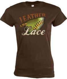 """Team Express Gear Women's """"Leather and Lace"""" T-Shirt 