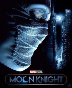 Moon Knight fan poster by Aydar Migranov & DC Marvel Concept Art, Disney Concept Art, Marvel Art, Thor Marvel, Marvel Actors, Marvel Movies, Neverending Story Movie, Marvel Moon Knight, Hawkeye Comic