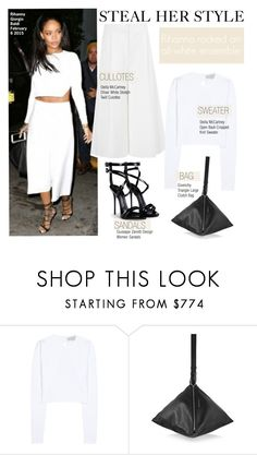 """""""Steal Her Style-Rihanna"""" by kusja ❤ liked on Polyvore featuring STELLA McCARTNEY, Givenchy, Giuseppe Zanotti, StellaMcCartney, Stealherstyle, Rihanna and celebstyle"""