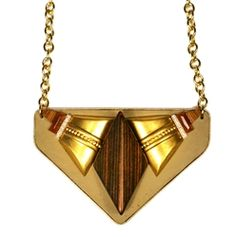 //Bold tribal necklace//