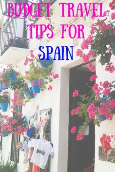 Spain isn't the most backpacker or budget friendly place. However, with a little bit of planning and a lot of patience, it is entirely possible to do this in a budget.