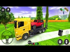 Recovery Truck Car Transport - Drive Simulator 2 - Android Gameplay - YouTube