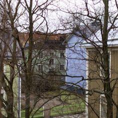 Wooden Houses - Vallilla, Helsinki, Finland