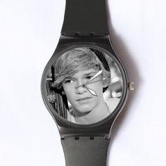 Custom Cody Simpson Watches Classic Black Plastic ($13.99)