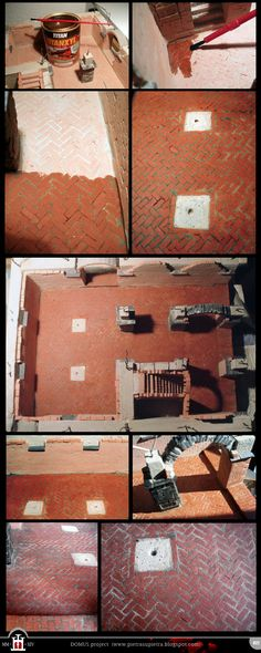 Domus project 022: Basement floor (part II) http://pietrasupietra.blogspot.com/2012/04/construction-22-varnishing-of-floor.html  The Domus project is the construction in scale 1:50 of an imaginary medieval palace. It's made of clay, stones, slate, wood and other construction materials in the style of rich genoese buildings from the middle of XIV century.