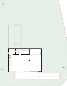 Image 4 of 37 from gallery of BT House / Estudio Jorgelina Tortorici Arq. Photograph by Alejandro Peral Modern Architecture House, Residential Architecture, Futuristic Architecture, Modern Houses, Basement House, Basement Plans, Casa Art Deco, Best Modern House Design, Concrete Houses