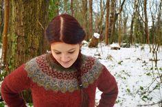 What's In A Treehouse: Freydis Eiriksdottir and a new Lopapeysa