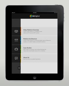 Kit Digital iPad app by Martin Oberhäuser