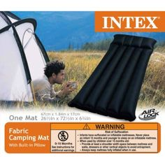 Mac Due Intex 68797 - Materasso Camping Laminato, 184x67x17 cm: Amazon.it: Casa…